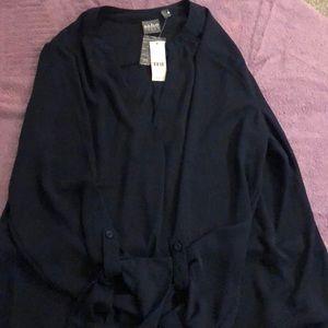 Dress shirt- Navy Blue